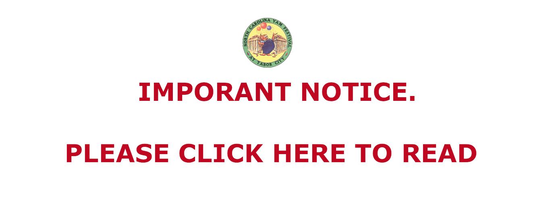 imporant notice